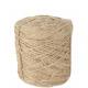 Jutekordel, diameter 3.5 mm, 1Kg ca.450 m, natu